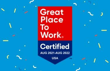 Certification as a Great Place to Work